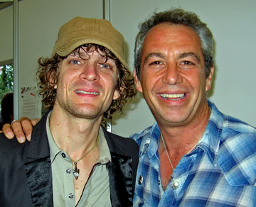 shot of brendan benson and watt in 2006