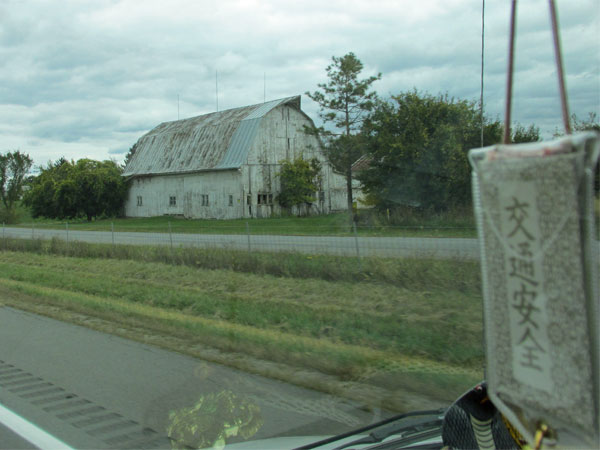 driving through northwest ohio towards toledo on october 5, 2014