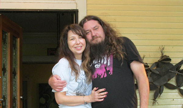karen + steveo in memphis, tn on october 3, 2014