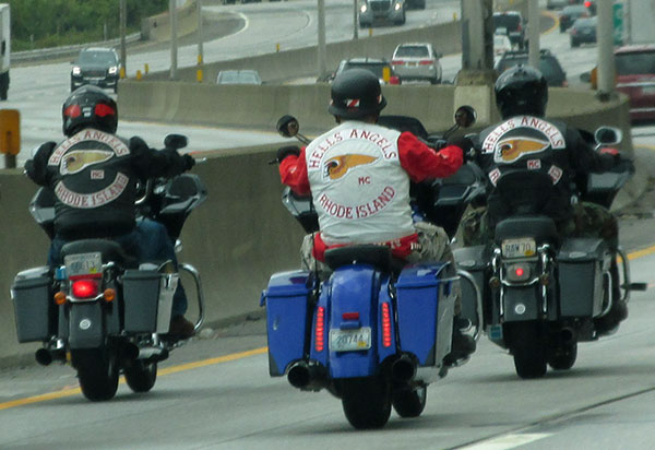 some bike people in connecticut on october 15, 2014