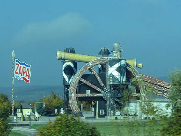 zapa cement factory near holubice in czech republic on october 22, 2016