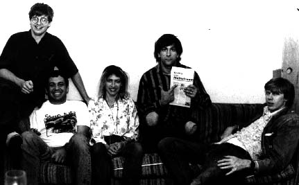 shot of ciccone youth in 1987