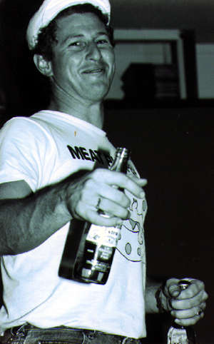 shot of george hurley in 1990