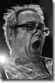 mike watt at the roxy in west hollywood, ca on december 28, 2016 by debi del grande