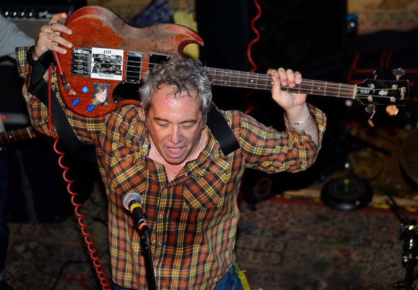 mike watt at the north star bar in philadelphia, pa on october 11, 2012 by johnny gee