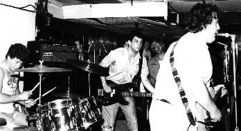 shot of the minutemen in 1983