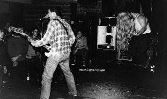 shot of the minutemen in 1984