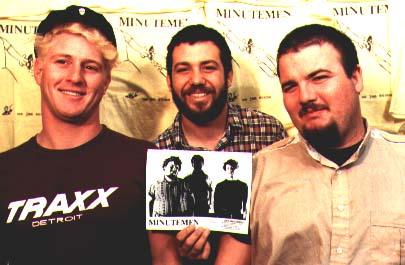 shot of the minutemen in 1985