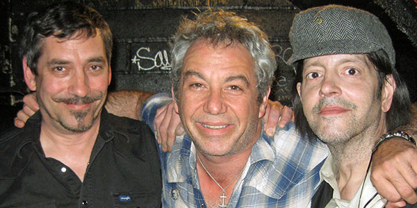 greg norton, mike watt and grant hart (left to right) at the 7th st. entry in minneapolis, mn on may 15, 2009