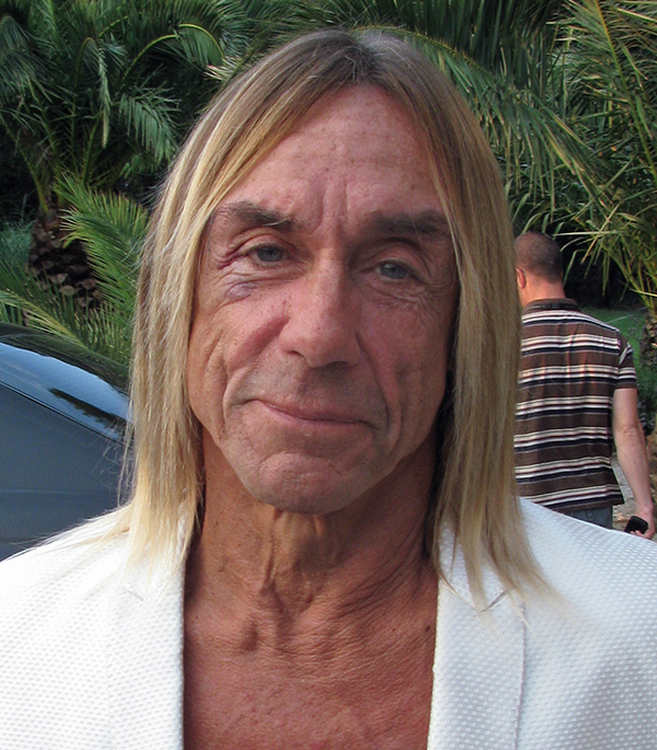 iggy pop in alenya, france on july 10, 2010