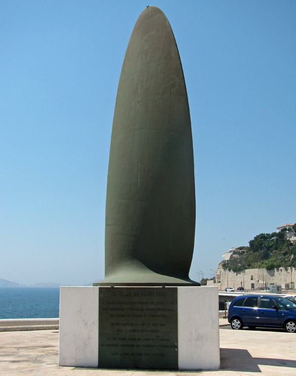 memorial des rapatries in marseille, france