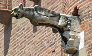 albi cathedral gargoyle - july 7, 2013