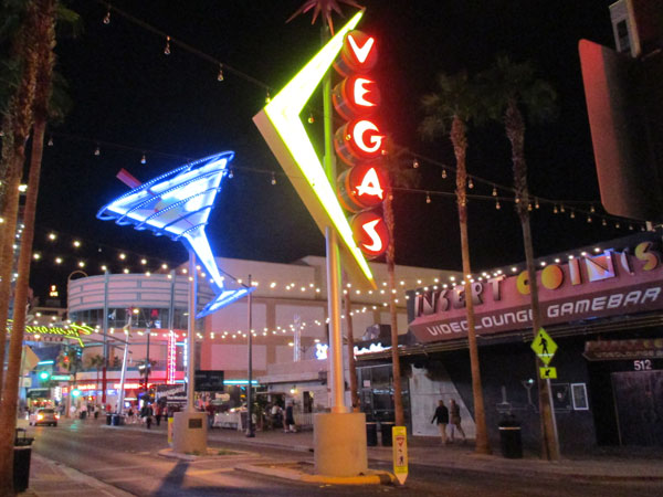 street scene near the beauty bar in las vegas, nv on october 26, 2015