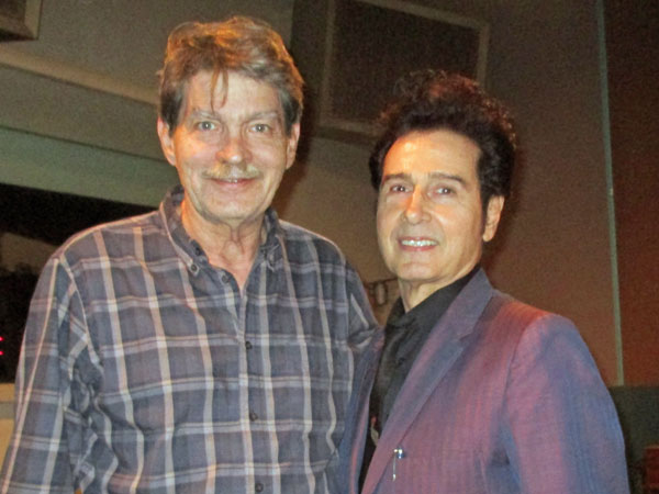 jud phillips + tav falco (l to r) at sam phillips recording service in memphis, tn on october 16, 2015