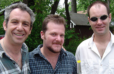 shot of mike watt + the secondmen in 2003