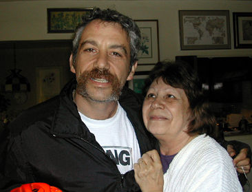 shot of watt and his ma in 2002
