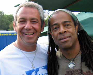shot of watt and doug wimbish in 2006