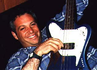 shot of mike watt in 1997